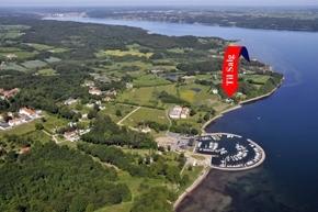 Direkte til Vejle Fjord - 500 m til lystbådehavn